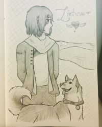 Liet and His Pup by Crystalstreak