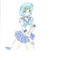 Sailor Mercury by Zanny-Marie