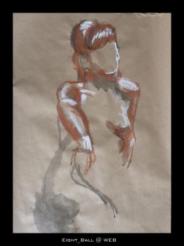 Nude Study 2 by 8Eight8Ball8