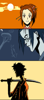 Samurai champloo by IdiotxIdioteque