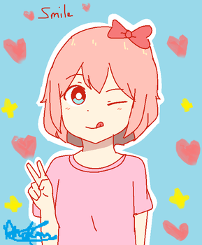 Peace~! by Phoems17cutieplier