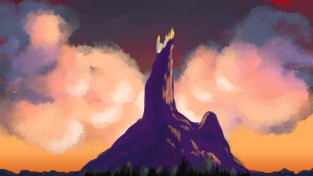 The Mountain of the Four Winds by RebeccaThorneWrites