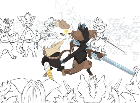 Bring on your Villains [WIP] by Ascynd