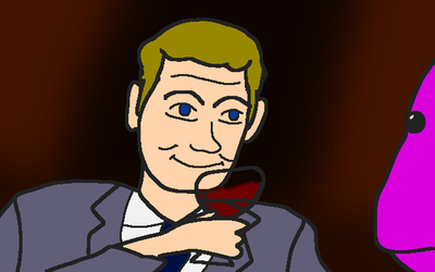 Barney Stinson from HIMYM by totalgymvssonic