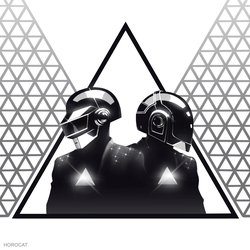 Daft Punk Triangle 2 by HoroCat