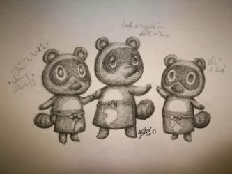 Animal Crossing: The Nook Family by Jasmineteax