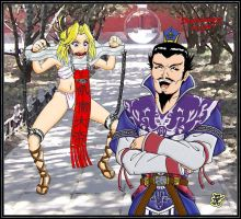 Cao cao spoils of war colored by yomerome