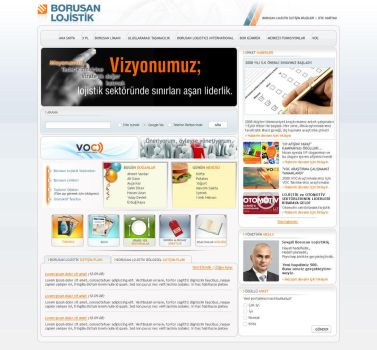 Microsoft SharePoint Design by blackiron