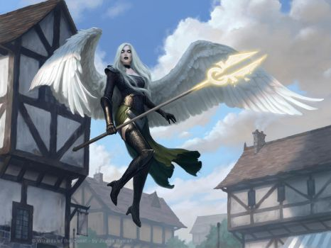 Avacyn Protector of Innistrad by namesjames
