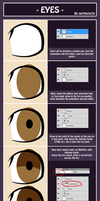 Eye Tutorial by northstar2x