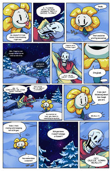 Flowey Is Not a Good Life Coach - Chap. 1, page 2 by fluffySlipper