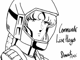 Commander Lisa Hayes by bishou-no-soujiro