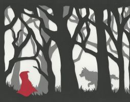 Lil' Red Riding Hood by Icepearl14