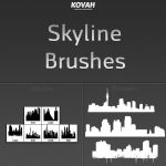 Skyline Brushes by theKovah