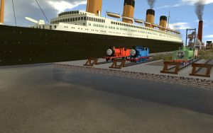 The RMS Titanic by FcoMk513
