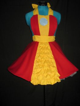 Iron Man Inspired Cosplay Apron Pianfore by DarlingArmy