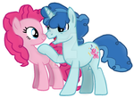 Pinkie and Party Favor by BlueBookWard