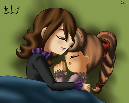 Spend the Night Together by AngelShizuka