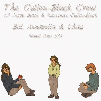 The Cullen-Black Crew 2015 by KyloRensMom