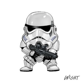 S is for Stormtrooper by joewight
