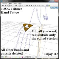 MMD Download ~Triforce Hand Tattoo~ by xXFrenchToastXx