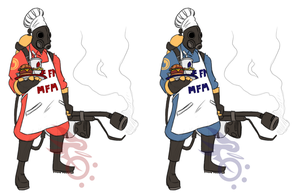 TF2- Meet the...Cook? by GoldKnightPK