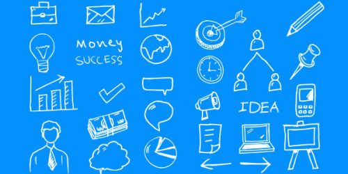 27 Business Vector Doodles (PSD) by softarea