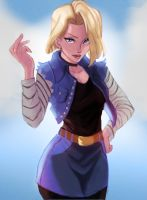 Android 18 by Yona-Art