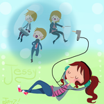 Jessy and Hanson by JAMcolors