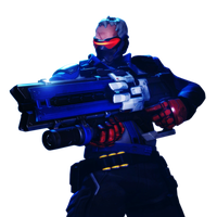[Overwatch] Soldier: 76 (Render) by PopokuPinguPop90