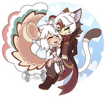 [P] Floof balls in Love by NobleChinchi