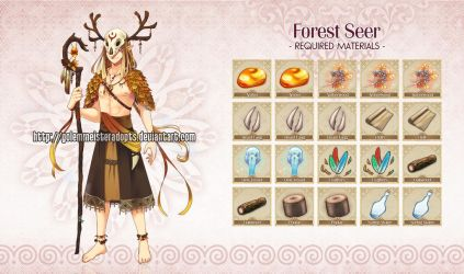 [Closed] Golem 030: Forest Seer by neeproject