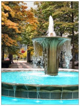 Pittsburgh Fountain by jojousa
