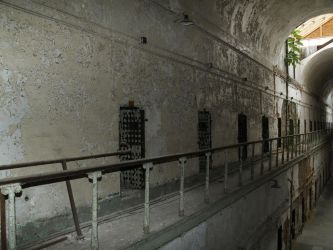 Eastern State Penitentiary 6 by Dracoart-Stock