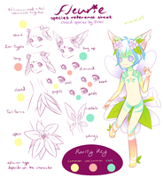 Fleurie Species Reference by Jinhii