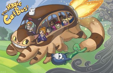 The Magic Catbus! by evui