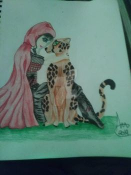 Cheetah and Red