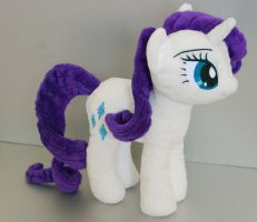 Rarity Plushie by AmberFossil