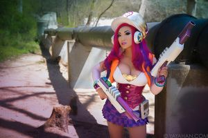 Arcade Miss Fortune: I Always Shoot First by yayacosplay