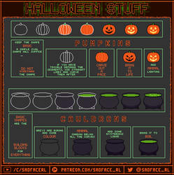 Halloween Pixel Art Tutorial - Part 1 by SadfaceRL