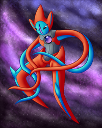 Deoxys by Toonclouds