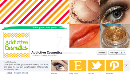 Addictive Cosmetics Facebook Mockup