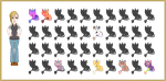 My Unicat Collection Minified - WIP by xavs-pixels