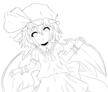 Remilia Scarlet by Cold-Mittens