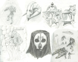 Star Wars Fan Art Sketches by Riot-Inducer