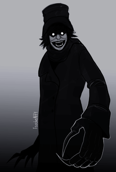 Mister Babadook by catastrotaffy
