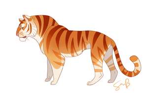 Golden Begal Tiger by sambragg