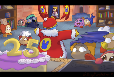Kirby: Quick! Hide the Cake! by Artistic-Karateka