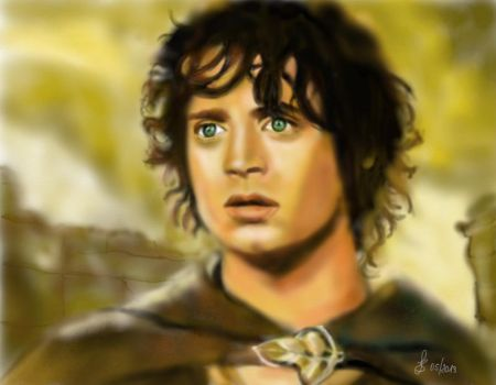 Frodo Baggins by Saryetta86