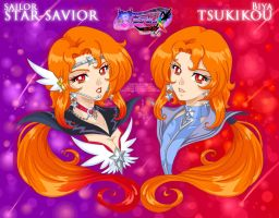 SM OC: Star Savior or Biya Tsukikou by Lucithea